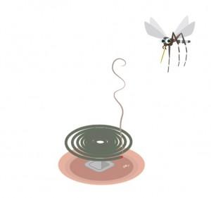 蚊取り線香 効果 煙