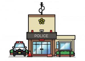 警察 パトカー